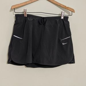 Nike Dri-Fit Gray Skirt with Built-in Briefs S